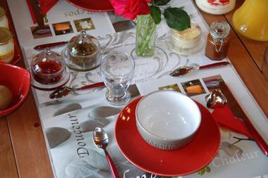 Petit déjeuner cabane la bourousais - Maure de Bretagne cabane Bretagne