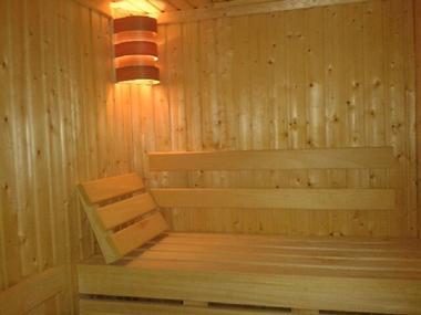 Sauna espace détente piscine Océlia