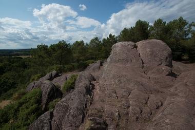 Rocher des Faux Amants, Val sans retour, Destination Brocéliande, Bretagne