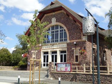 Le centre culturel l'Avant Scène à Montfort-su-Meu