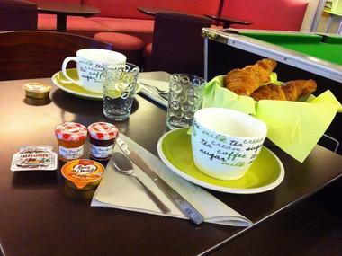 Hôtel Le Thy - petit-déjeuner - Ploërmel - Morbihan