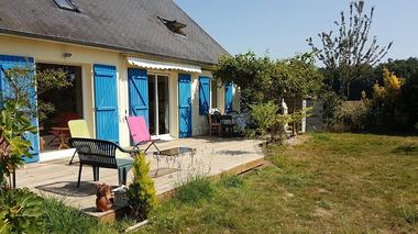 Le Cottage des Champs - terrasse - Saint-Brieuc-de-Mauron - Bretagne