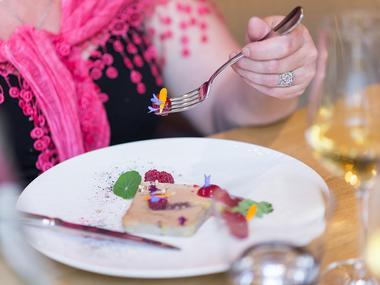Le Cobh - présentation entrée - gastronomique - Ploërmel