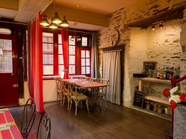 Crêperie - les ateliers gourmands - salle restauration - Ploërmel - Brocéliande