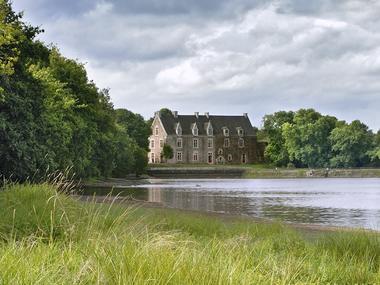 Comper l'autre rive - Concoret - château - Brocéliande