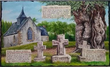 Fresques légendes Brignac