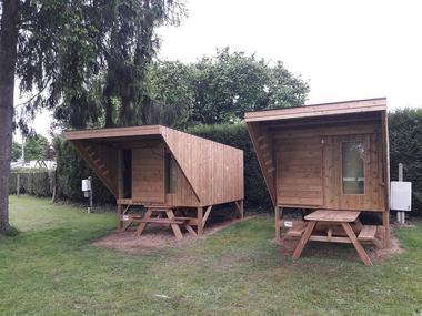 cabane de randonneur - camping du lac - Taupont - Morbihan