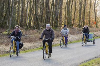 Balade contée en vélo électrique - mardi et jeudi - 20 octobre au 1er novembre