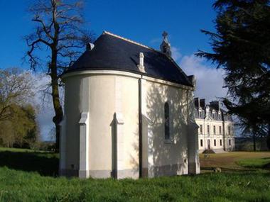 Chapelle du château de la Morinais - 2016