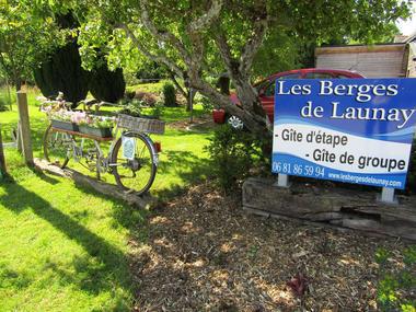 Les berges de Launay - accueil vélo - Saint-marcel - 2016