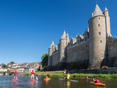 Josselin - Canal de Nantes à Brest - Morbihan - Bretagne