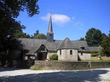 Chapelle Saint-Mélec - Pomeleuc - Lanouée - Forges de Lanouée - Morbihan