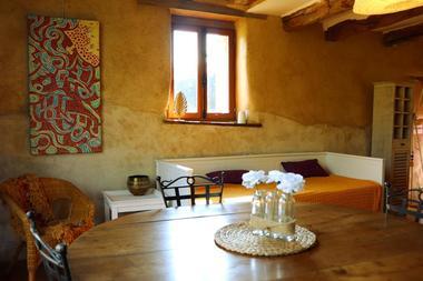Chélidoine table et banquette