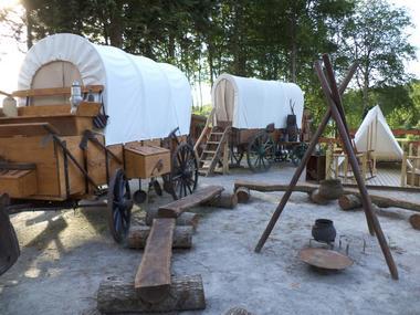 Camp western Camping d'Aleth St-Malo de Beignon Brocéliande