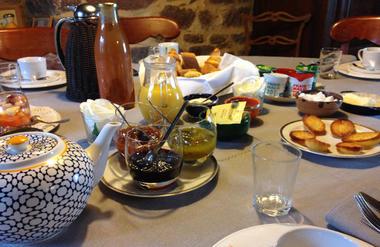 Domaine du Val Ory_Petit déjeuner
