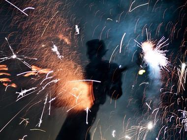 Etinciel - spectacle de feu - Saint-Armel - Ploërmel Communauté