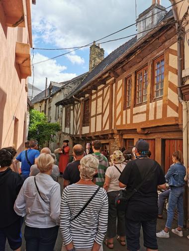 Visite theatralisée Malestroit