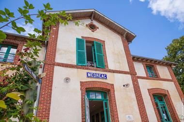 Vélorail Gare de Médréac
