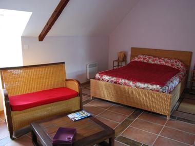 Chambres d'hôtes La Mangeoire - Chambre Roi Arthur - Lanouée - Morbihan - Bretagne