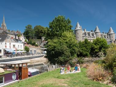 Josselin - Square de Tard - Morbihan - Bretagne