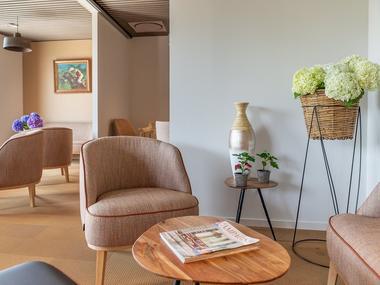 brit hotel L'Hippodrome - réception - Ploërmel - Morbihan