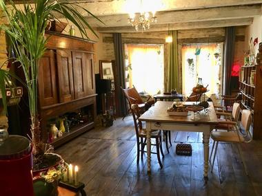 Chambre-hôtes-Maison-artiste-Josselin-Brocéliande-Morbihan-Bretagne