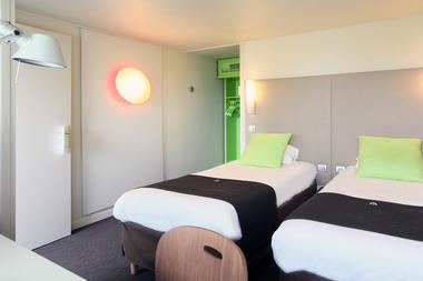 Chambre twin Nouvelle génération-hotel-campanile-destination-angers