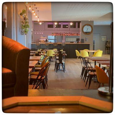 La salle du restaurant
