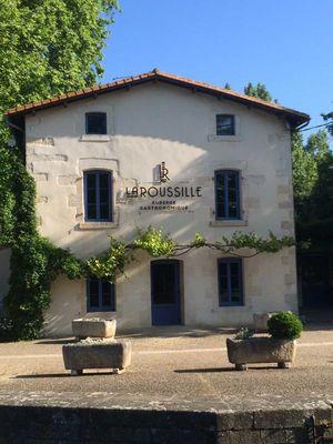 """L'auberge gastronomique """"La Roussille"""" à Niort"""