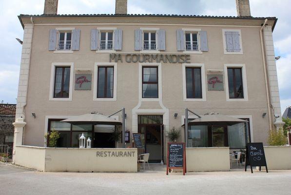 "Le restaurant ""Ma Gourmandise"" à Arçais"
