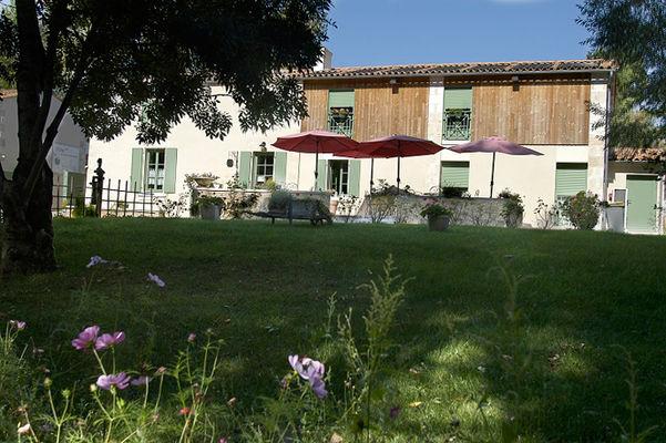 """L'hôtel """"Maison Flore"""" à Arçais"""