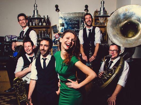 Concert The Sassy Swingers - Jazz - Festiv'été - Josselin - Morbihan - Bretagne