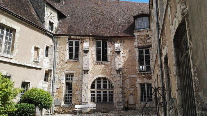 Musée des Beaux-Arts Cour interieure