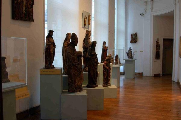 Musée des Beaux-Arts Salle des Bois Polychromes