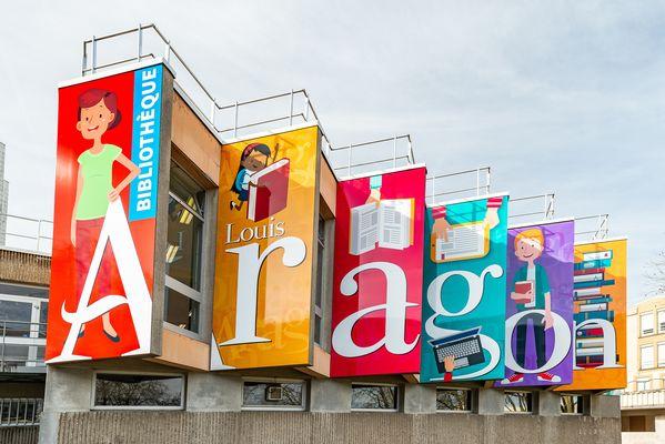 Bibliothèque Louis Aragon
