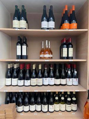 Choix de vins sélection Maison Monarque épicerie fine