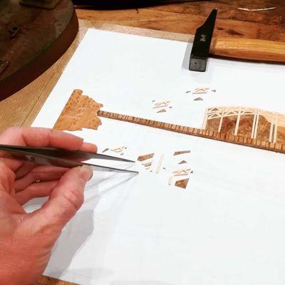 Atelier Marqueterie de bois