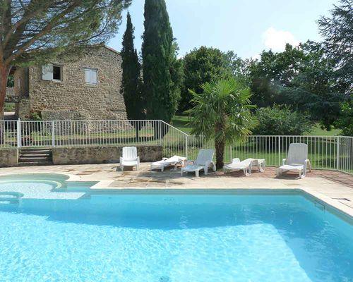 Domaine de la Griottière_ la piscine