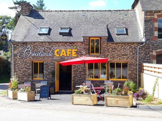 Brocéliande Café 1