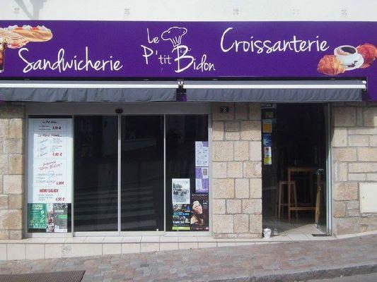 Le P'tit Bidon - vitrine - Ploërmel - Morbihan