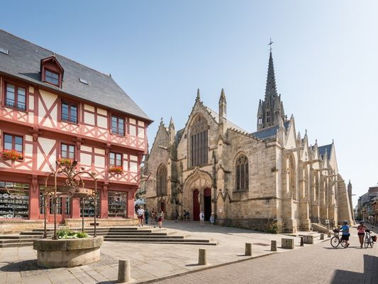 Josselin - Basilique Notre-Dame du Roncier - Morbihan - Bretagne