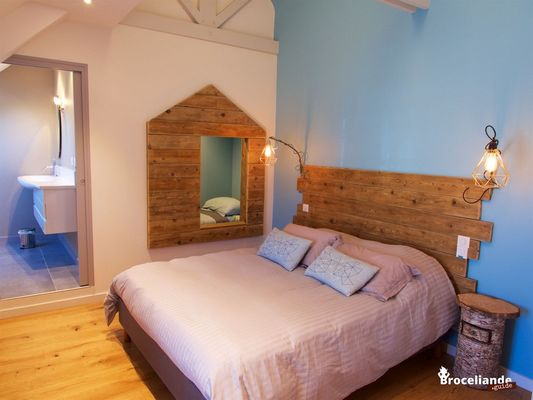 Chambres d'hôtes Les Hortensias - Chambre Cabane - La Croix-Helléan - Morbihan - Bretagne