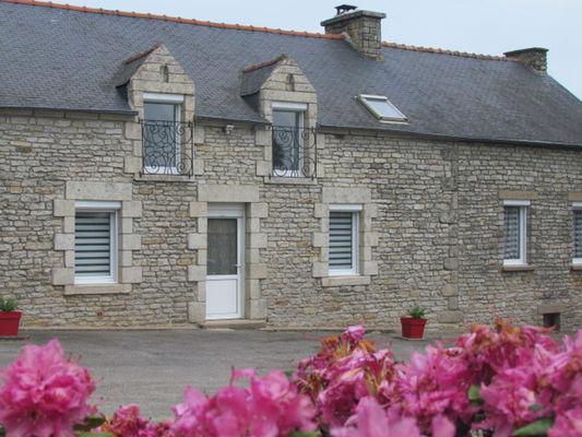 Gîte La longère de Lasnière - Le Roc Saint-André - Val d'Oust