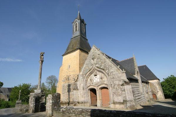 Eglise Saint-Golven - Taupont - Broceliande - Bretagne
