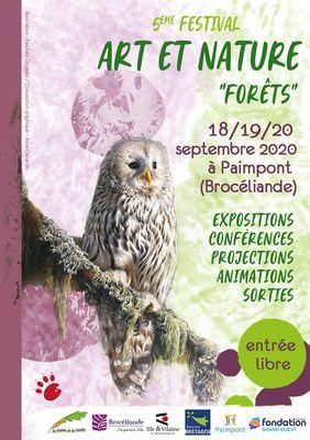 Festival art et nature forêt_Paimpont_2020