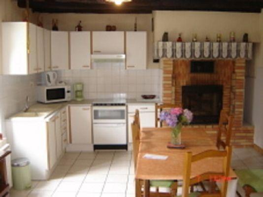 Gîte Bocandé cuisine - St Marcel - Morbihan - Bretagne