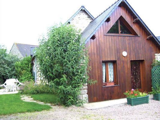 Gîte Guimard extérieur - Pleucadeuc - Morbihan - Bretagne