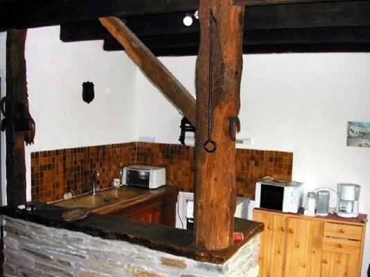 Gîte Raflegeau coin cuisine - Missiriac - Morbihan - Bretagne