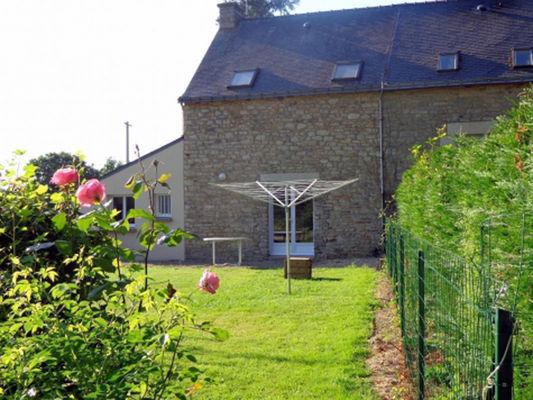 Gîte Triballier jardin - Sérent - Morbihan - Bretagne