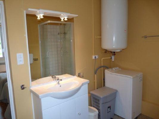 Gîte de Kerelec salle d'eau - Pleucadeuc - Morbihan - Bretagne